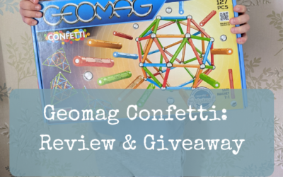 Geomag Confetti:  Review