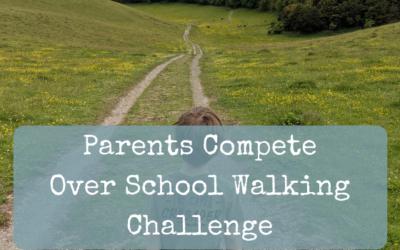 Pushy Parents Compete Over School Walking Challenge