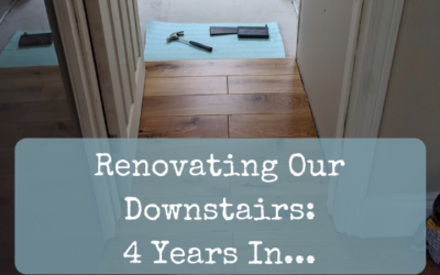 Renovating Our Downstairs: 4 Years In…