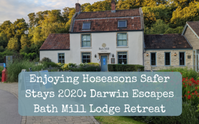 Enjoying Hoseasons Safer Stays 2020: Darwin Escapes Bath Mill Lodge Retreat