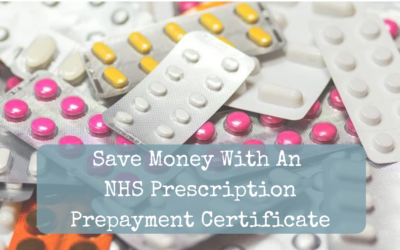 Save Money With A Prescription Prepayment Certificate
