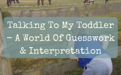 Talking To My Toddler – A World Of Guesswork And Interpretation!