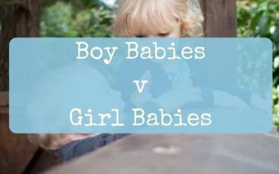 Boy Babies v Girl Babies