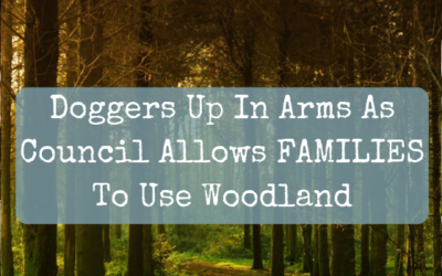 Doggers Up In Arms As Council Allows FAMILIES To Use Woodland During Summer Holidays
