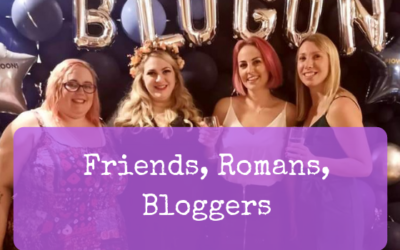 Friends, Romans, Bloggers