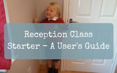 Reception Class Starter – A User's Guide