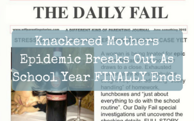 Knackered Mothers Epidemic Breaks Out As School Year FINALLY Ends
