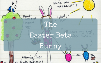 The Easter Beta Bunny