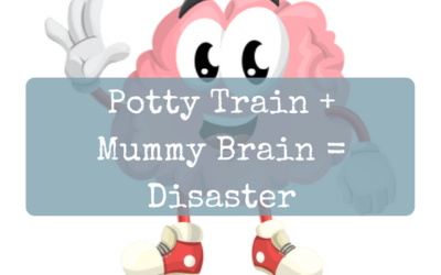 Potty Train + Mummy Brain = Disaster