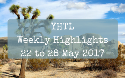 YHTL Weekly Highlights  – 22 to 28 May 2017