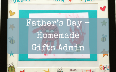 Father's Day – Homemade Gifts Admin
