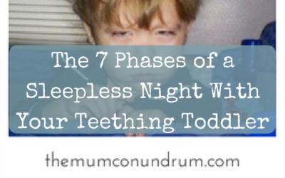 The 7 Phases of a Sleepless Night With Your Teething Toddler