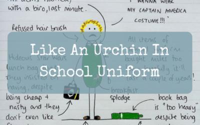 Like An Urchin In School Uniform