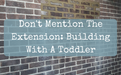 Don't Mention The Extension: Building With A Toddler