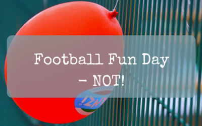 Football Fun Day – NOT!