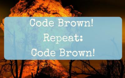 Code Brown! Repeat: Code Brown!