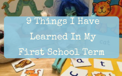 9 things I have learned in my first school term